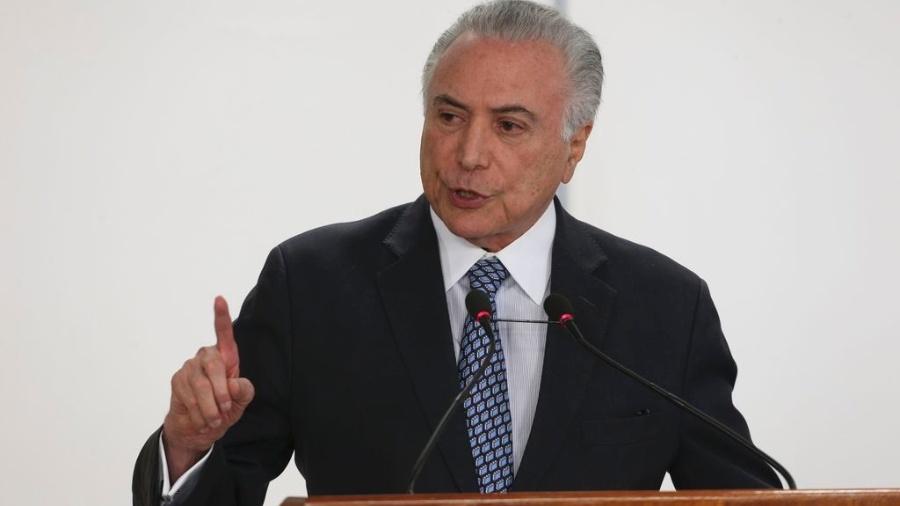 Presidente Michel Temer - Valter Campanato/Agência Brasil