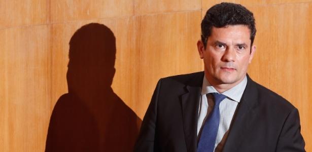 Moro abriu mão do cargo de juiz para ser ministro de Bolsonaro - Theo Marques / Folhapress