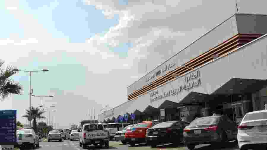 12.jun.2019 - Fachada do Aeroporto Internacional de Abha, na Arábia Saudita - AFP
