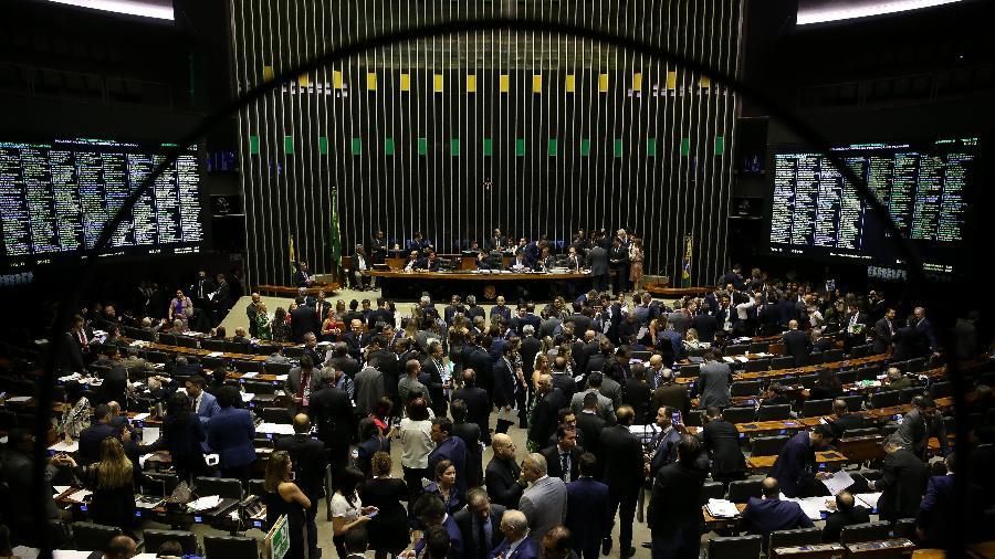 Plenário da câmara dos deputados durante sessão do Congresso Nacional - Pedro Ladeira/Folhapress