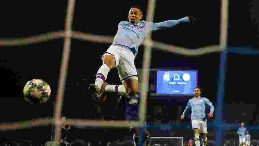 Gabriel Jesus marca gol em vitória do City sobre o Dinamo Zagreb - MATTHEW CHILDS
