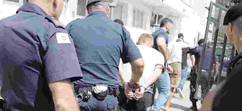 17.mar.2020 - Foragido da penitenciária de Porto Feliz recapturado no interior de São Paulo - Denny Cesare/Código 19/Estadão Conteúdo