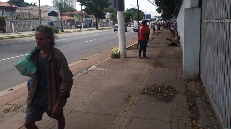 Abrigo Boracea, na Barra Funda, onde dormem pessoas em situação de rua - Alex Tajra/UOL