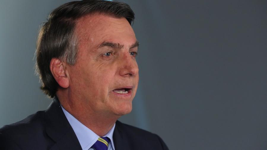 Bolsonaro sancionou hoje o projeto que garante ajuda a trabalhadores informais - Isac Nóbrega/PR