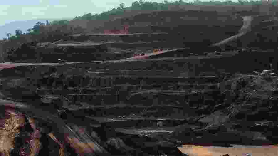Área de mineração pertencente à Vale em Paraupebas (PA) - Por Luciano Costa
