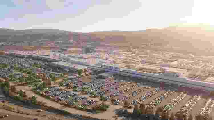 Fábrica da Tesla em  Fremont, California - Divulgação - Divulgação