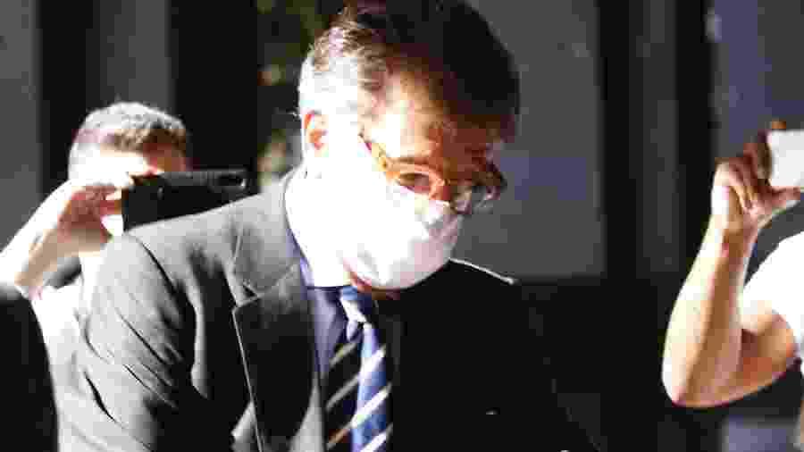 Paulo Marinho foi ao prédio do Ministério Público Federal (MPF), no Rio de Janeiro (RJ), em maio deste ano para depor sobre o vazamento da operação do caso do Queiroz para Flávio Bolsonaro - JOSE LUCENA/FUTURA PRESS/FUTURA PRESS/ESTADÃO CONTEÚDO