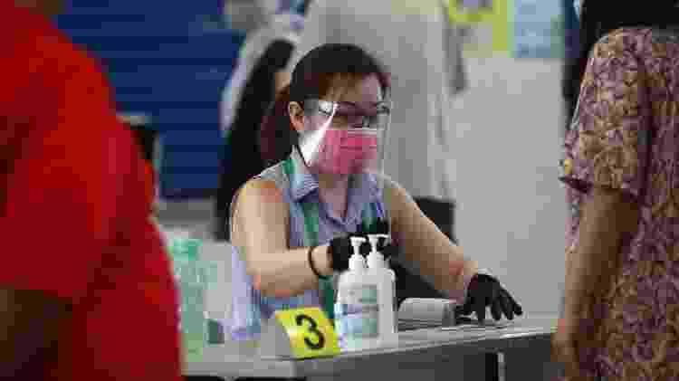 Singapura adotou medidas extras de segurança para suas eleições gerais - EPA - EPA
