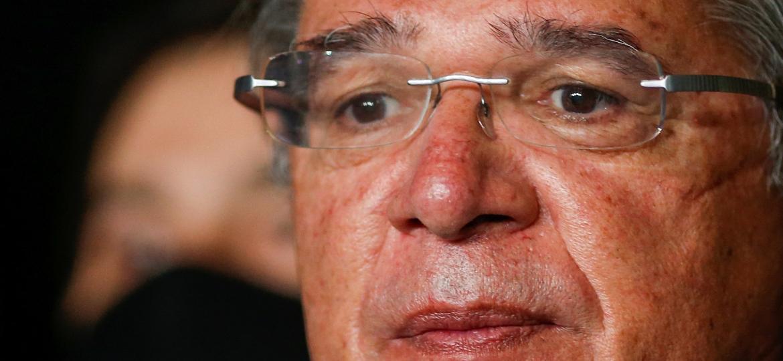 Guedes ressaltou que governo apoia nova rodada do auxílio emergencial, mas defendeu aprovação de medidas de ajuste fiscal para garantir sustentabilidade nas contas - ADRIANO MACHADO