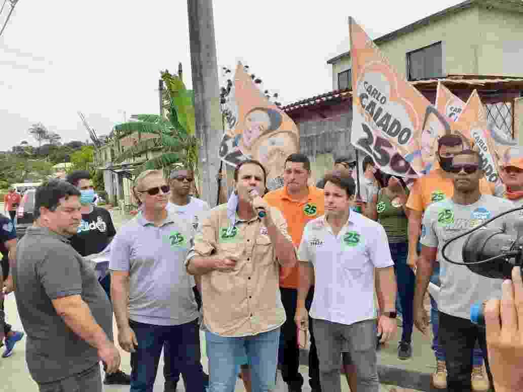 Eduardo Paes (DEM), candidato à prefeitura do Rio - Gabriel Saboia/UOL