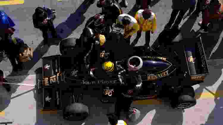 Renault F1 Senna 2 - Divulgação  - Divulgação