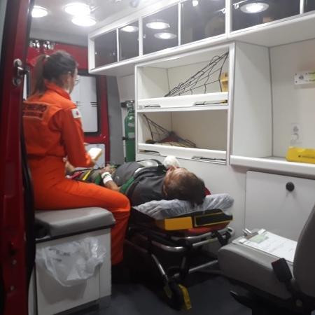 Fazendeiro passa por cirurgia em BH após decepar mão em serra elétrica - Divulgação/CBBMG