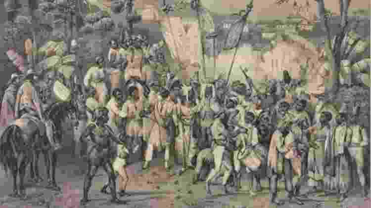 """""""A escravidão no século XVII se consolidou como o maior negócio do mundo, envolvendo milhares de pessoas"""", afirma Gomes - Arquivo Nacional/Domínio Público - Arquivo Nacional/Domínio Público"""