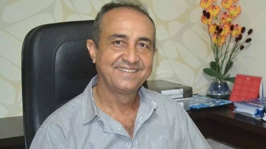 Ex-prefeito de Santa Terezinha de Goiás, Antônio da Penha Machado Camargo - Reprodução