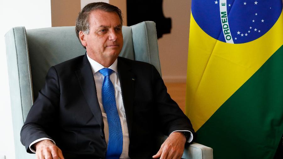 O presidente Jair Bolsonaro (sem partido) em reunião em Nova York, nos Estados Unidos - Alan Santos/PR