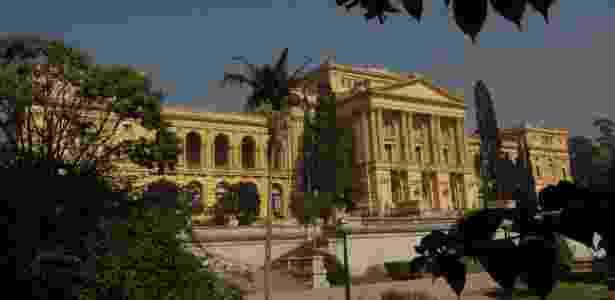 O Museu Paulista, mais conhecido como Museu do Ipiranga, está fechado desde 2013 devido a problemas estruturais. A administração trabalha com 2022 como data limite para reabrir o edifício - Niels Andreas/Estadão Conteúdo