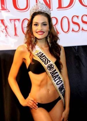 Jéssica Duarte foi eleita Miss Mundo MT 2016