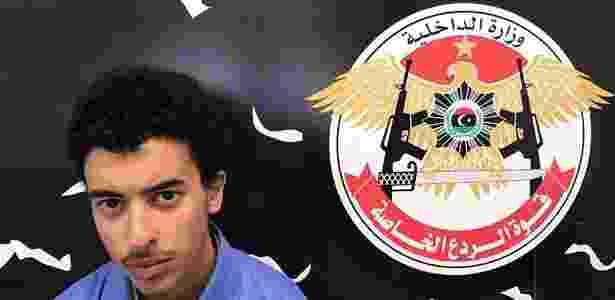 Na última terça-feira, a polícia prendeu em Manchester Hashem Abedi, um dos irmãos de Salman Abedi, homem suspeito de explodir a bomba que deixou 22 mortos na cidade - Ministério do Interior da Líbia/via AFP - Ministério do Interior da Líbia/via AFP