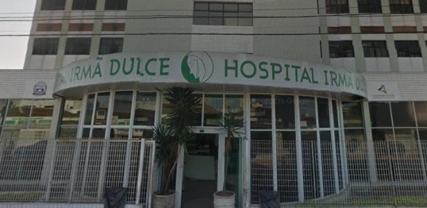 Vítima de choque elétrico foi levada ao hospital Irmã Dulce, mas não resistiu - Reprodução/Street View