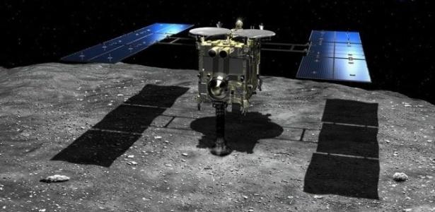 Expectativa é que a sonda espacial japonesa Hayabusa-2 tenha um desempenho melhor que sua antecessora