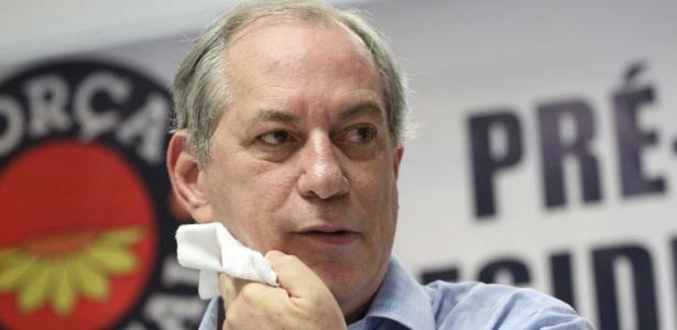 """Ciro voltou a classificar como """"fofoca"""" e """"intriga do mundo político"""" a notícia de que estaria negociando uma aliança com o DEM"""