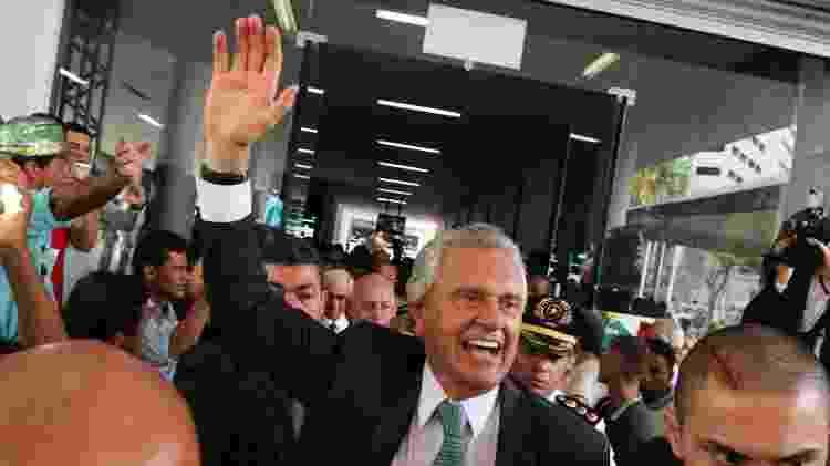 1.jan.19 - Caiado no dia de sua posse como governador em Goiás - Becker/Futura Press/Folhapress - Becker/Futura Press/Folhapress