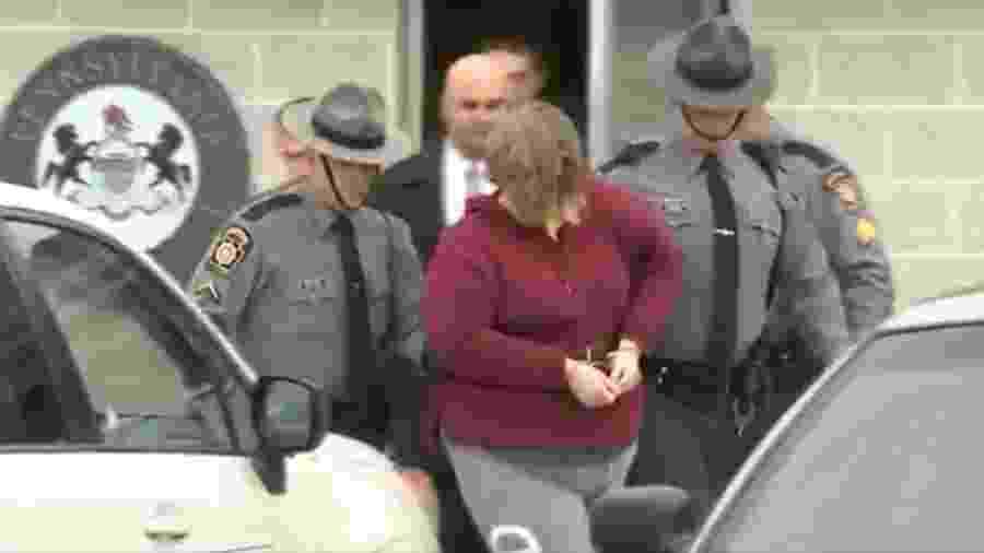 Lisa Snyder é acusada de ter matado os dois filhos  - Reprodução