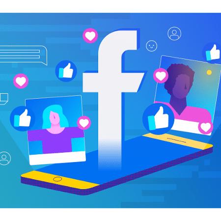 Conferência do Facebook estava prevista para acontecer em 5 e 6 de maio na Califórnia - Arte UOL