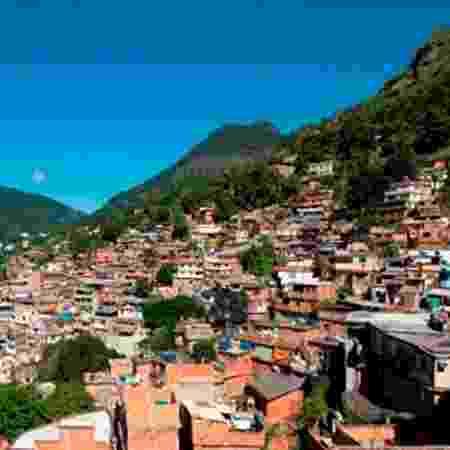 Morro do Borel, no Rio de Janeiro - Divulgação/Prefeitura do Rio