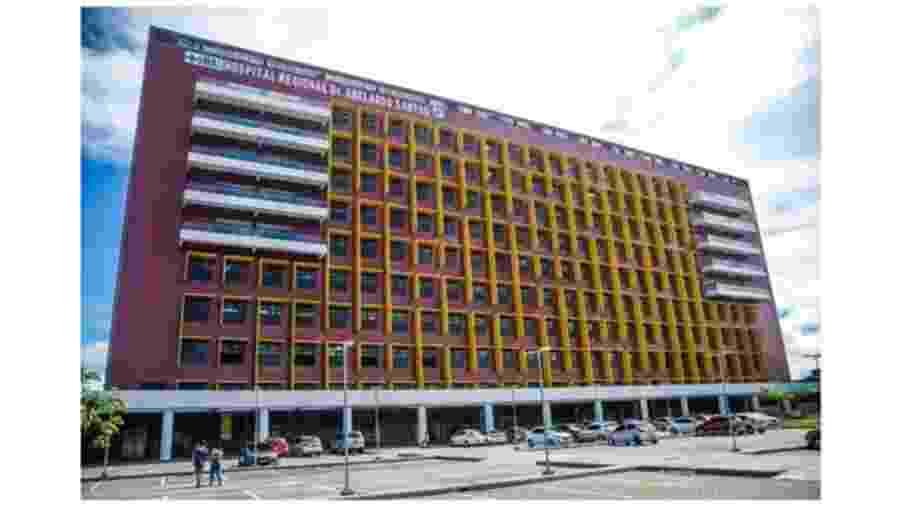 Hospital Abelardo Santos, em Belém (PA), passou a atender exclusivamente casos de pacientes com o novo coronavírus - PEDRO GUERREIRO/AGÊNCIA PARÁ
