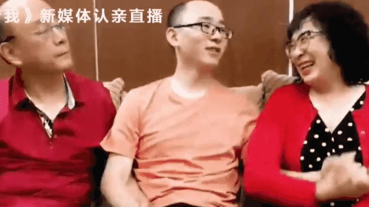 Um teste de DNA confirmou que Mao Yin é filho do casal - CCTV