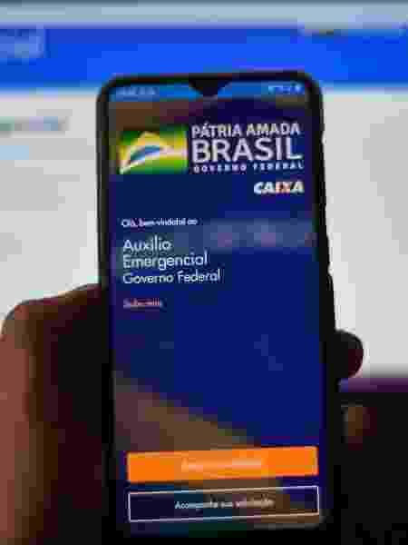 Justiça Federal de SP e MS cria formulário para quem quer contestar auxílio emergencial - Caio Rocha/Framephoto/Estadão Conteúdo