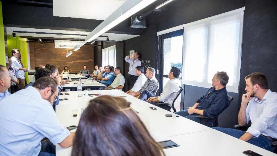 """O """"Pulse"""", hub de inovação da Raízen, 7ª colocada no ranking - Divulgação"""
