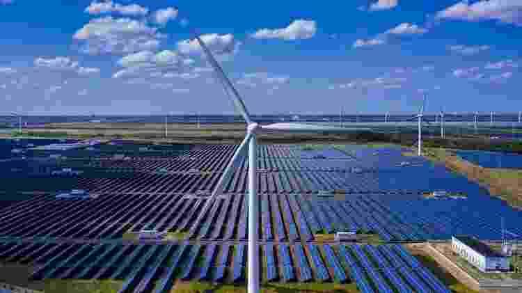 A energia eólica é uma alternativa para reduzir as emissões de carbono - EPA - EPA