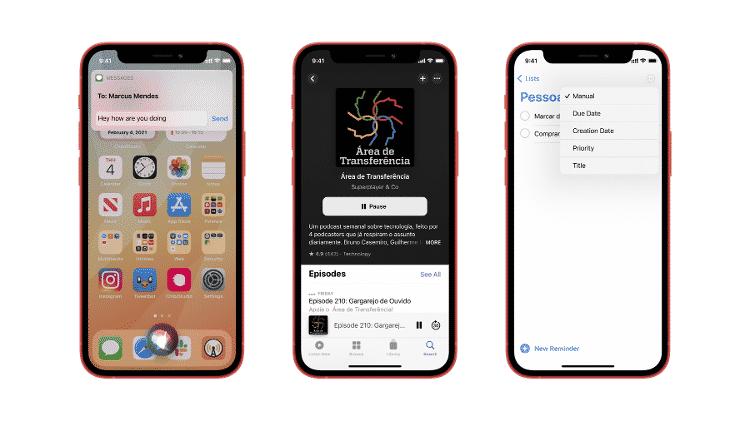 Novidades que estão por vir com o iOS 14.5 - Arquivo pessoal/ Guilherme Rambo - Arquivo pessoal/ Guilherme Rambo