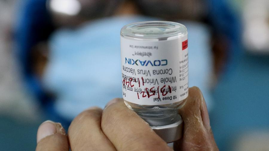 Anvisa aprovou a importância da vacina Covaxin para uso em condições controladas no Brasil - Debajyoti Chakraborty / NurPhoto via Getty Images
