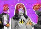 Segure a emoção: veja 3 dicas de quem manja para você não cair em fake news (Foto: Arte UOL)