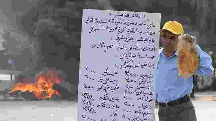 Protestos no Oriente Médio e Norte da África por causa do alto preço dos alimentos contribuíram para a queda de vários governos - Getty Images - Getty Images