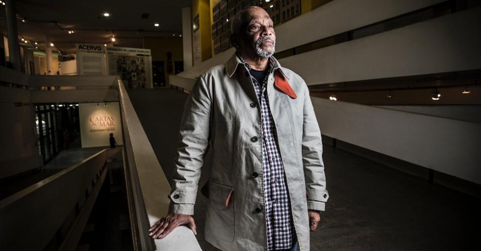 Emanoel Araujo, artista plástico baiano, diretor do Museu Afro Brasil.