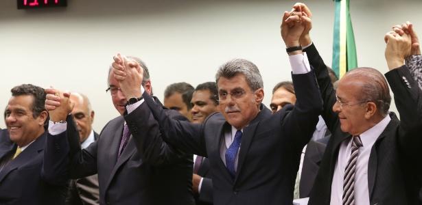 Em março de 2016, Romero Jucá lidera debandada do PMDB do governo Dilma
