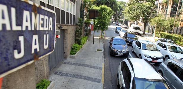 Trecho da alameda Jaú, entre a avenida Brigadeiro Luís Antônio e a alameda Campinas, passará a ter mão dupla para a circulação de veículos