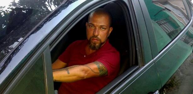 Luis Souza, 40, foi abordado por homens armados três vezes em menos de um mês