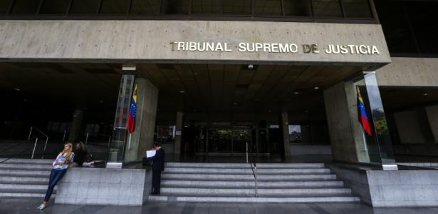 27.mar.2017 - Sede do Tribunal Supremo de Justiça, em Caracas, na Venezuela