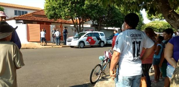 Valteni Ferrari pulou o muro e invadiu a casa da ex-mulher durante a madrugada