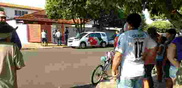 Valteni Ferrari pulou o muro e invadiu a casa da ex-mulher durante a madrugada - Fábio Ishizawa/Regional Press