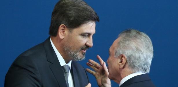 Temer não discursou no evento de transferência do cargo para Segovia