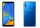 No forninho: Veja como os novos Samsung Galaxy J4+, J6+ e A7 devem ser (Foto: Reprodução/GalaxyClub)