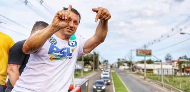Comandante Moisés, candidato do PSL ao governo de Santa Catarina