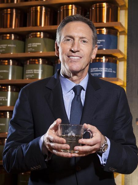 Howard Schultz, CEO da Starbucks - CARLO ALLEGRI/ Reuters