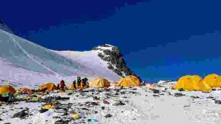 Corpos também estão aparecendo no acampamento 4 - Doma Sherpa/BBC - Doma Sherpa/BBC